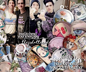 brendon urie, edit, and P!ATD image