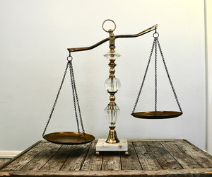 balance and scales image