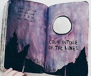 aesthetic, art, and watercolor image