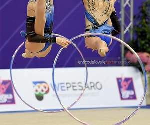 hoop, italy, and rhytmic gymnastic image
