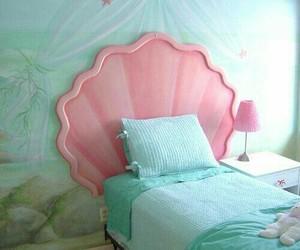 mermaid, bedroom, and room image