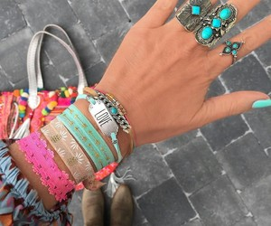 accessoires, boho, and nails image