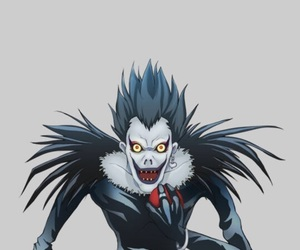 background, death note, and ryuk image