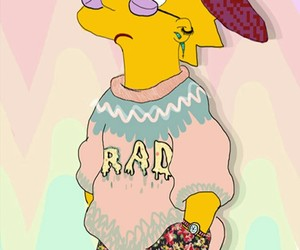 simpsons, lisa, and rad image