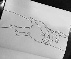 art, drawing, and holding hand s#soft image