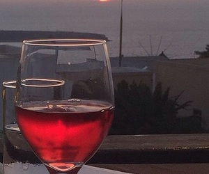 wine, aesthetic, and red image