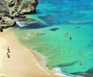 bali, beach, and heaven image