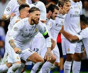 real madrid, team, and champions league image