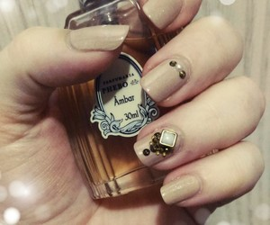 beauty, nails, and perfume image