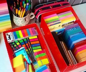 notebooks, pens, and stationery image