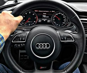 audi, ❤, and rs7 image