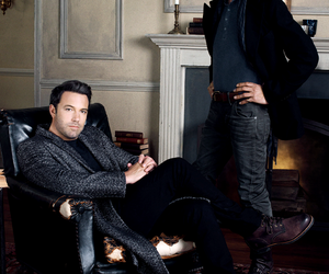 alfred pennyworth, Ben Affleck, and bruce wayne image
