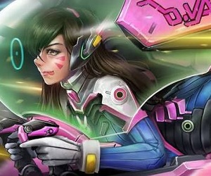 overwatch and d. va image