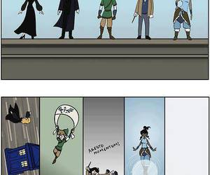 sherlock, harry potter, and doctor who image