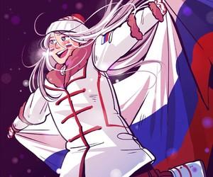 vitya, yuri on ice, and viktor nikiforov image