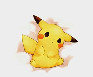 cute, pikachu, and pokemon image