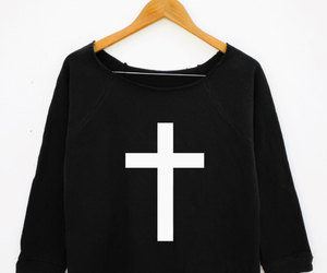 cross, fashion, and inverted image