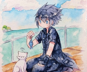 cat, ffxv, and final fantasy image