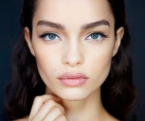 model, beauty, and makeup image