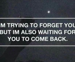 forget, come back, and quote image