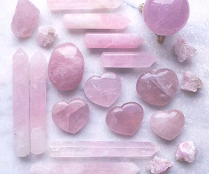 pink, crystal, and grunge image