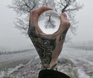 tattoo, grunge, and winter image
