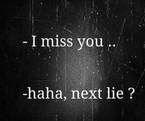 lies, miss, and quotes image