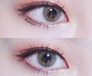 eye, makeup, and ulzzang makeup image