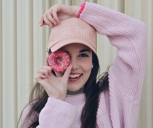 donuts, pink, and tumblr image