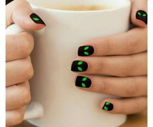 nails, abstract, and nail art image