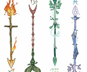 pisces, horoscopes, and capricorn image