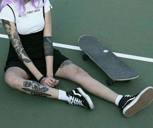 aesthetic, vans+, and alternative image