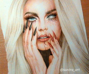 art, perrie edwards, and little mix image