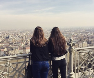 beautiful, tourists, and view image