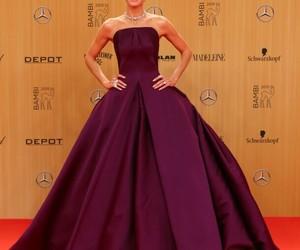 dress, heidi klum, and fashion image