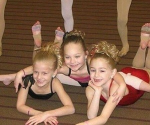 children, trio, and dance moms image