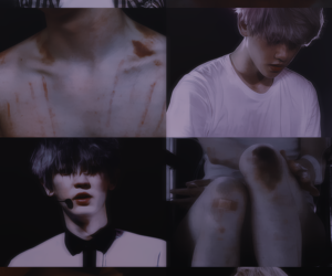 aesthetic, Collage, and exo image