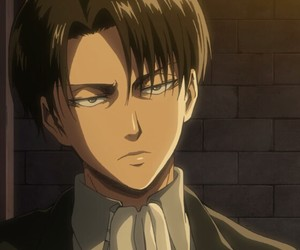 levi ackerman, attack on titan, and anime image