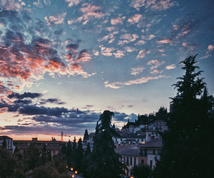 sky, nature, and city image