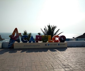 beach, playa, and acapulco image