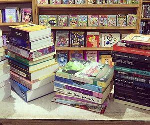 book, books, and estante image