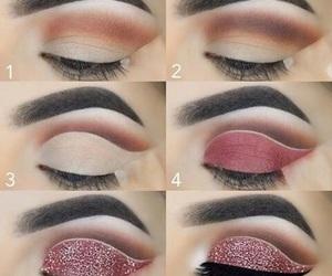 diy, eye makeup, and make up image