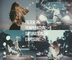 exposure, filter, and saturation image