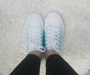 blue, shoes, and newshoes image