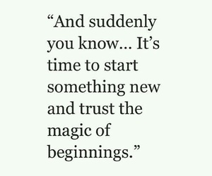 quotes, magic, and start image