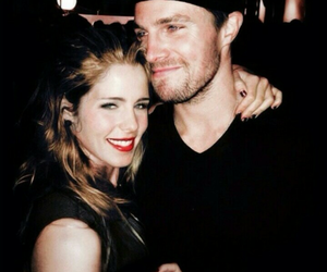 arrow, couple, and olicity image