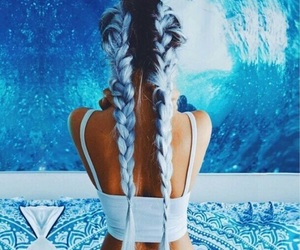 blue, goals, and mermaid image