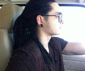tom kaulitz, tokio hotel, and dreadlocks image