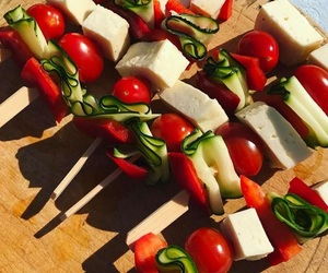 barbecue, cheese, and food image
