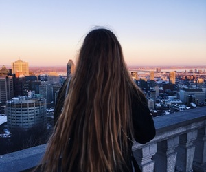 beauty, blond, and city image
